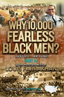 Justice Or Else! Pt. 14: Why 10,000 Fearless? (DVD)