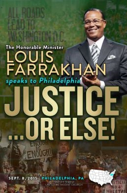 Justice Or Else! Pt. 17: What 10,000 Fearless Black Men Can Do For Our Community (DVD)