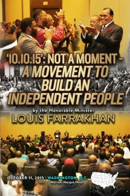 Justice Or Else!: '10.10.15.': Not a Moment - A Movement To Build An Independent People (DVD)
