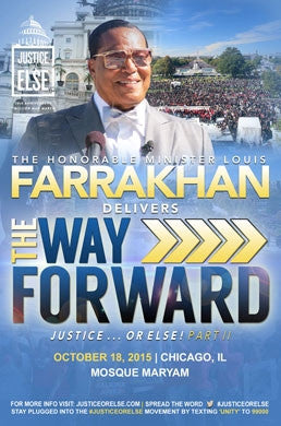 The Way Forward - Justice Or Else! Part II (DVD)