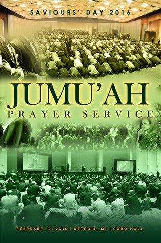 Saviours' Day 2016: Jumu'ah Prayer Service (DVD)