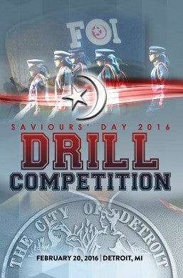 Saviours' Day 2016 - Drill Competition and Martial Arts Exhibition (DVD)