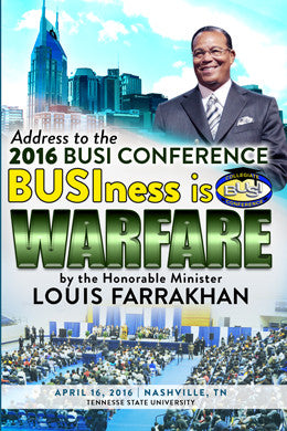 BUSIness is Warfare