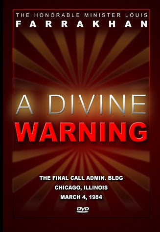 Divine Warning:The Honorable Elijah Muhammad As Messiah (DVD)