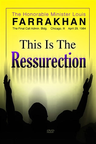 This Is The Resurrection (DVD)