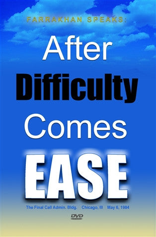 After Difficulty Comes Ease (DVD)