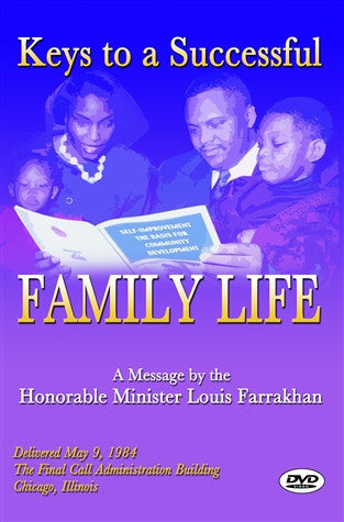 Keys To A Successful Family Life (DVD)