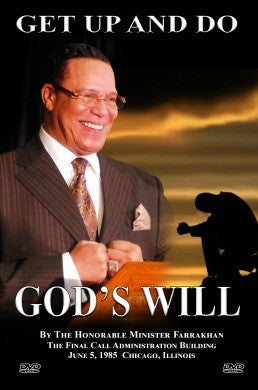 Get Up and Do God's Will (DVD)