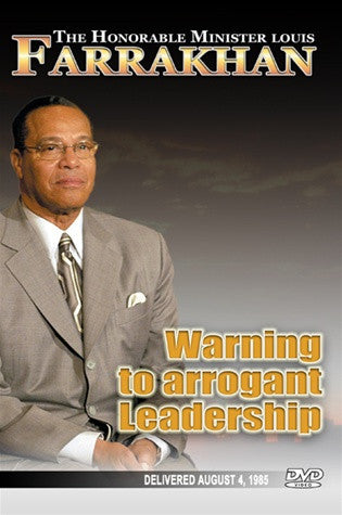 Warning To Arrogant Leadership (DVD)
