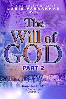 The WIll of God  pt. 2 (DVD)