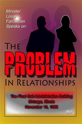 The Problem In Relationships (DVD)