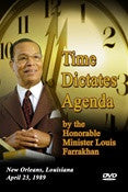 Time Dictates the Agenda (DVD)