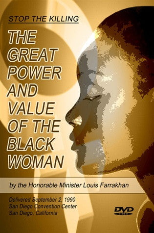 The Great Power and Value of the Black Woman (DVD)