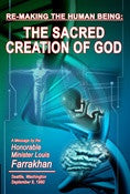 Re-Making The Human Being: The Sacred Creation of God