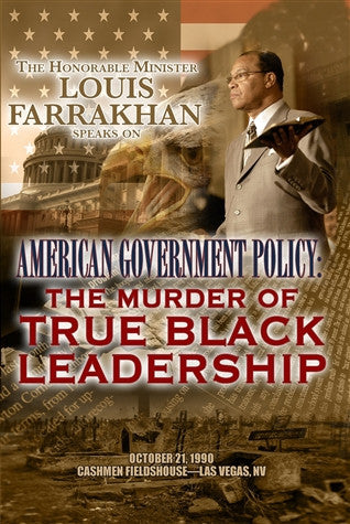 American Government Policy: The Murder Of True Black Leadership (DVD)