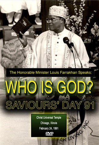 Who is God?: Saviours' Day 1991 (DVD)