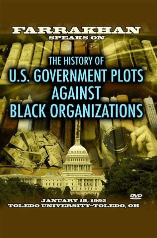 Plots Against Black Organizations (DVD)