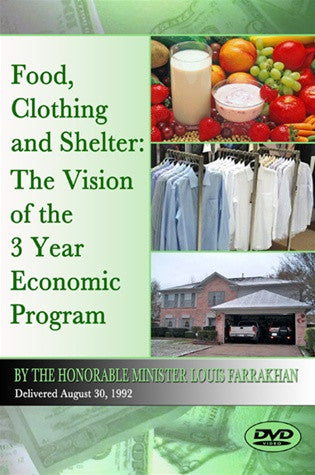 Food, Clothing and Shelter: The Vision of the 3-Year Economic Program