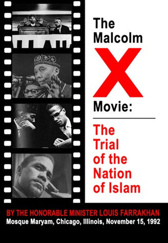 Malcolm X Movie: The Trial of the NOI (DVD)