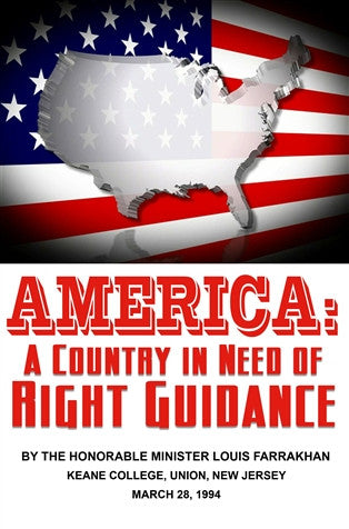 America: A Country In Need Of Right Guidance (DVD)