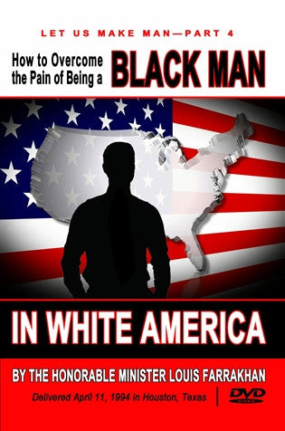 How To Overcome The Pain Of Being A Black Man In White America (DVD)
