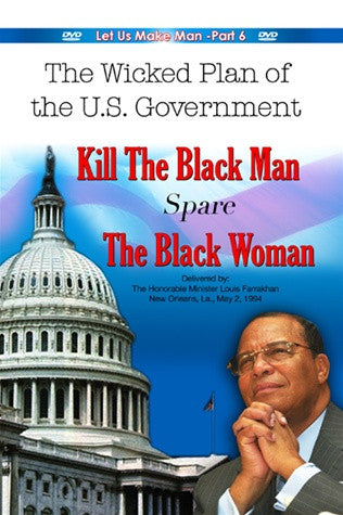 Kill the Black Man-Spare the Black Woman (DVD)