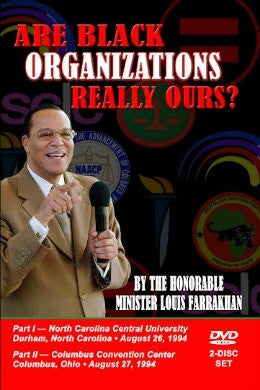 Are Black Organizations Really Ours? (DVD)