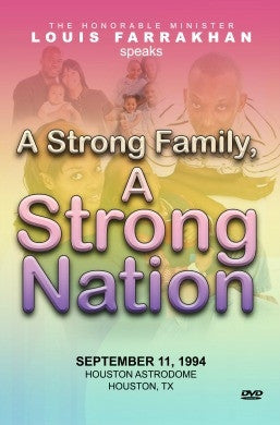 A Strong Family A Strong Nation