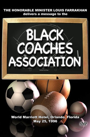 Message to the Black Coaches Association