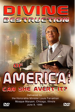 The Divine Destruction of America-Can She Avert It
