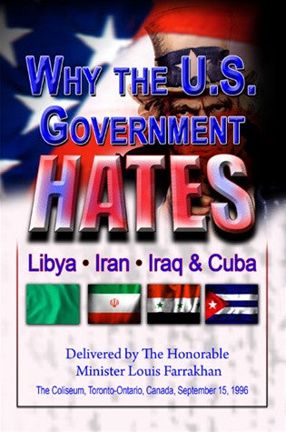 Why The U.S. Government Hates Libya, Iran. & Cuba (DVD)