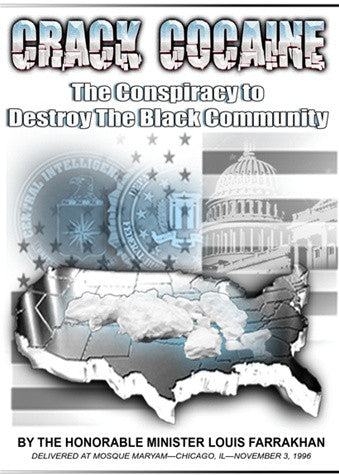 Crack Cocaine:The Conspiracy to Destroy The Black Community (DVD)