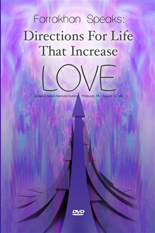 Directions For Life That Increase Love (DVD)