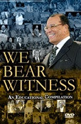 WE BEAR WITNESS (DVD)