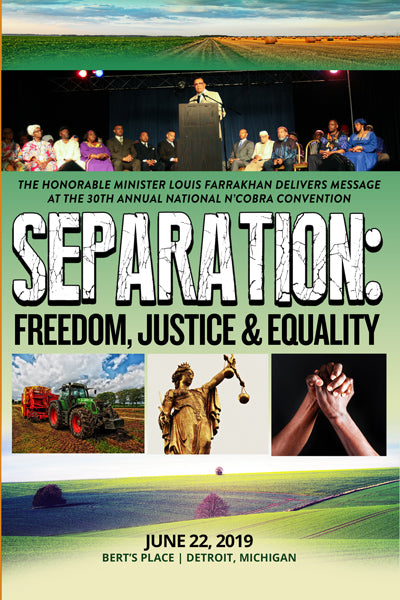 Separation: Freedom, Justice and Equality