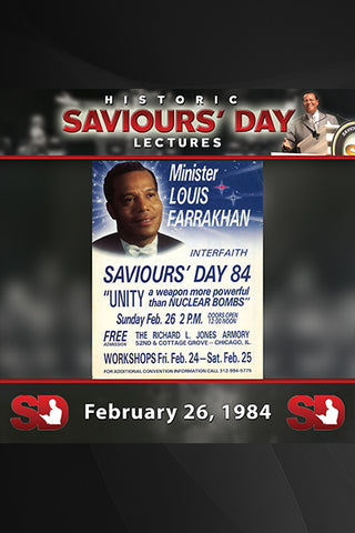 Saviours' Day February 26, 1984