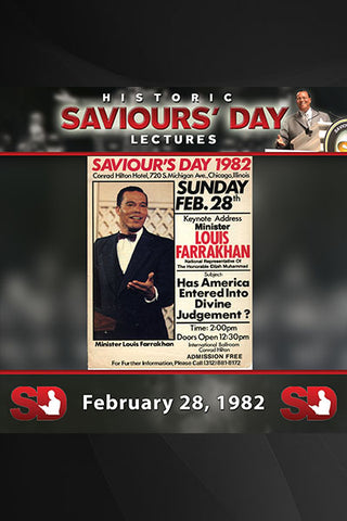 Saviours' Day February 28, 1982