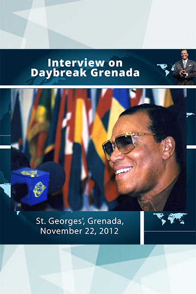 Interview on Daybreak Grenada