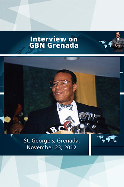 Interview on GBN Grenada