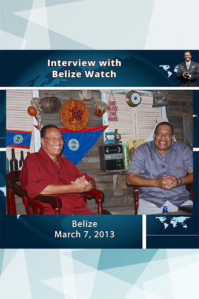 Interview with Belize watch