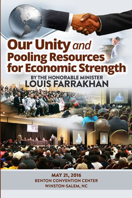 Our Unity And Pooling Resources For Economic Strength