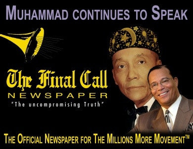 Muhammad Continues to Speak Poster