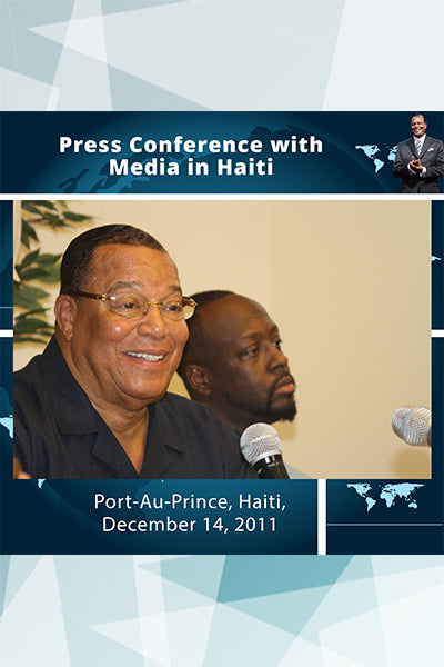 Press Conference with Media in Haiti