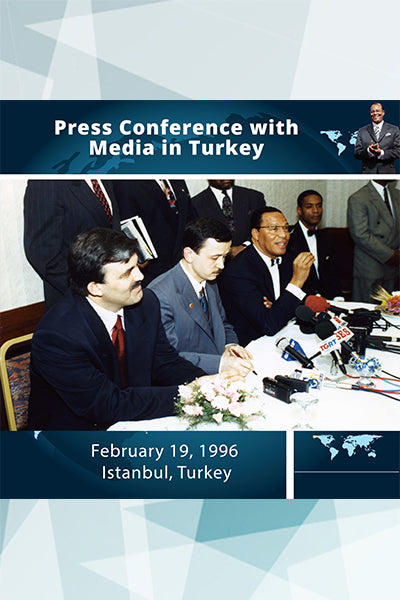 Press Conference with Media in Turkey