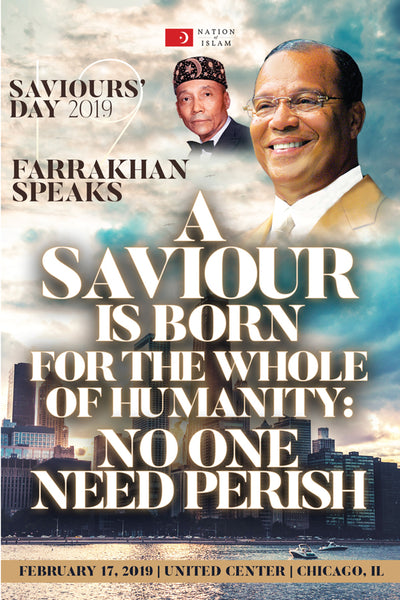 A Saviour Is Born For the Whole of Humanity: No One Need Perish