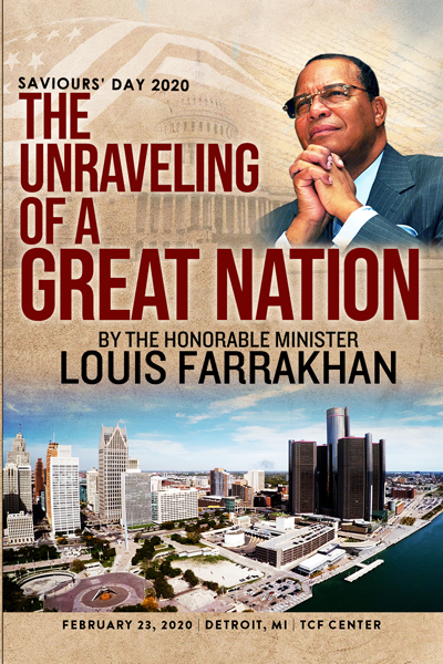 The Unraveling Of A Great Nation: Saviours' Day 2020 Keynote Address
