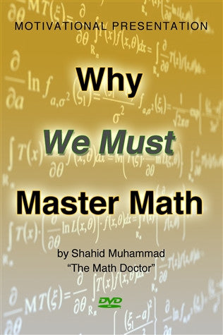 Why We Must Master Math (DVD)
