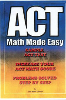 ACT Math Made Easy Educational (DVD)