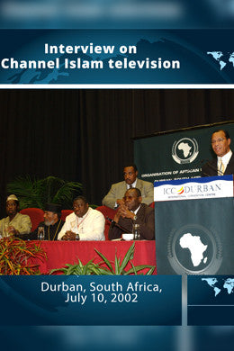 South Africa: Interview on Channel Islam Television