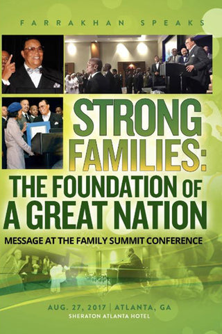 Strong Families: The Foundation of a Great Nation